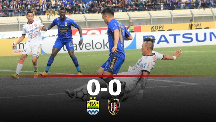 Ulasan Laga Persib Bandung vs Bali United