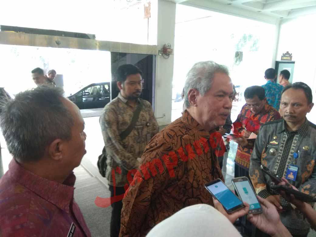Dewan Pertimbangan Presiden Kunjungi Pemprov Membahas Pendidikan di Lampung