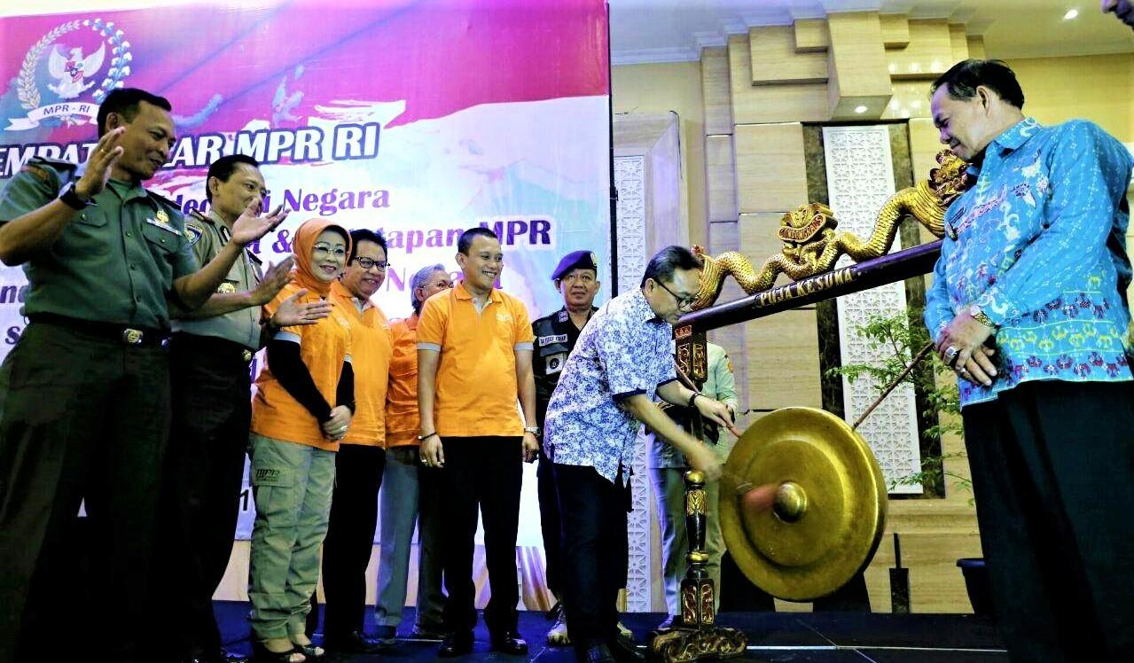 MPR RI Sosialisasi Empat Pilar Kepada Mahasiswa di Lampung