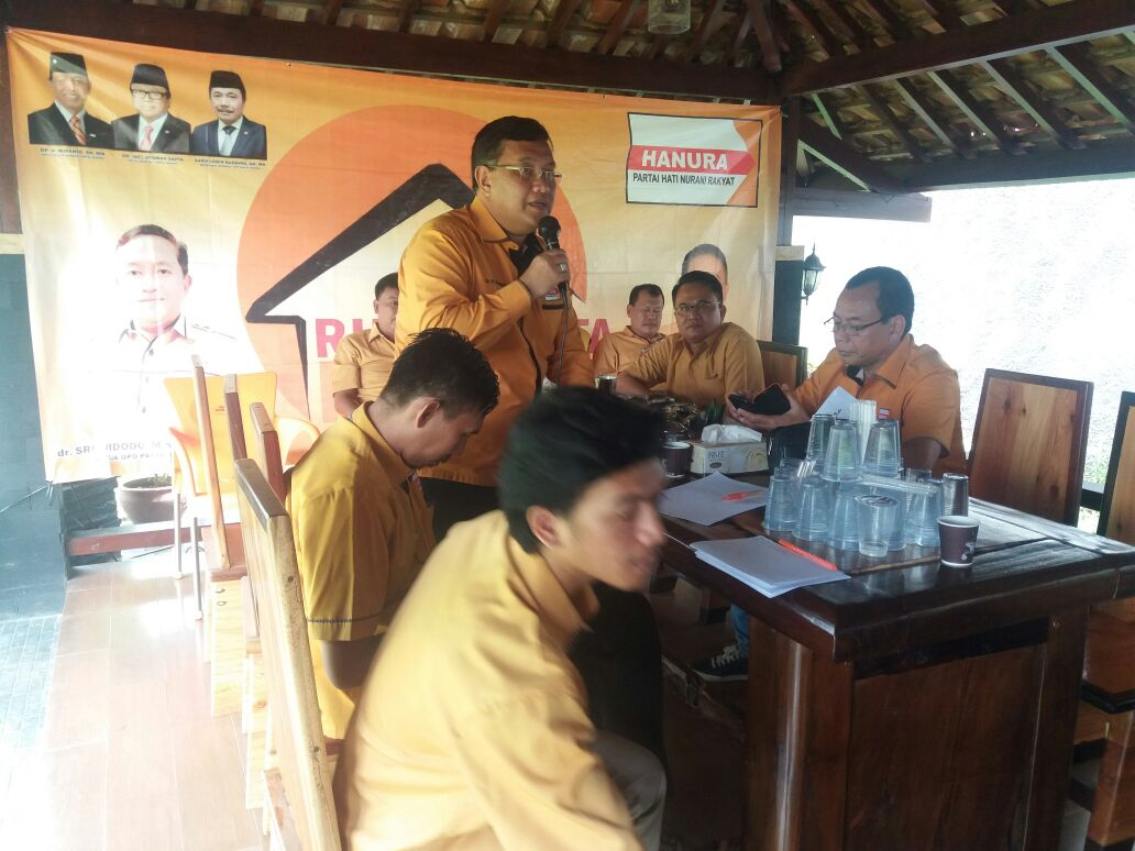 Ketua DPD Hanura Lampung : Saya Tidak Akan Tolerir Caleg Selingkuh