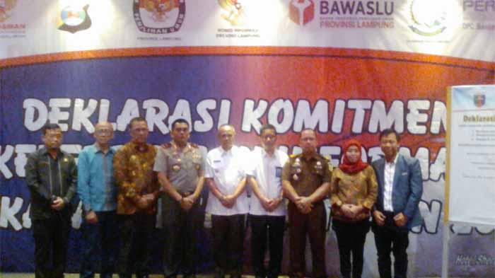 Keterbukaan Informasi Pilkada Lampung Dideklarasikan