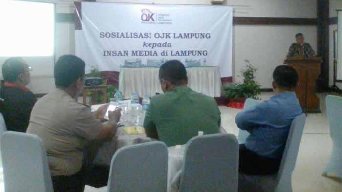 OJK Lampung Gelar Media Gathering